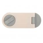 Блокиратор для дверей шкафов, цвет серый