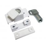 Блокиратор поворота Baby Lock с цилиндром и ключом белый