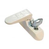Блокиратор поворота Penkid флажковый с ключом (Саш джаммер) белый