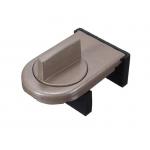 Фиксатор блокиратор для раздвижных окон и дверей SW-Lock коричневый