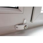 Универсальный блокирующий замок на окна WIN GUARD с ключом белый