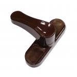 Универсальная противовзломная защелка, цвет коричневый