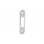 Планка ответная для дверей с наплавом, шириной 22мм, универсальная, белая крашенная