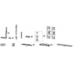 Комплект фурнитуры GS1000-ML, Европаз