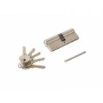 Цилиндр профильный ELEMENTIS 35/45, 5 ключей, никелированный