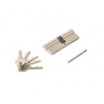 Цилиндр профильный ELEMENTIS 45/45, 5 ключей, никелированный