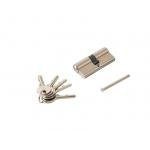 Цилиндр профильный 35/35, 5 ключей, никелированный