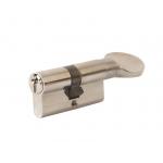 Цилиндровый механизм Elementis с ручкой 30(ключ)/30(ручка), никелированный