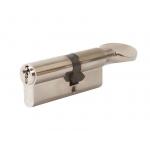 Цилиндр профильный с ручкой 35(ключ)/35(ручка), никелированный