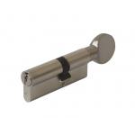 Цилиндр 35(ручка)-45(ключ) с плоской ручкой, никелированный