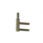 Петля ввертная, 4-штыревая, 3D, рамная часть, диаметр 14 мм, сталь, бихромат