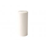 Накладка декоративная для ввертных петель, диаметр 16 мм, пластик, белый