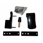 Петля регулируемая дверная VHS 3-D цинк 90 мм 8019 коричневая