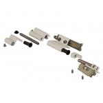 Комплект петель поворотно-откидных Giesse FUTURA Classic, Европаз (2 штуки), белый RAL9010