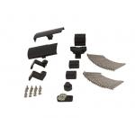 Комплект аксессуаров Giesse GS1000-ML, 100 кг, черный RAL9005