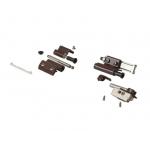 Комплект петель поворотно-откидных Giesse FUTURA Classic, Европаз (2 штуки), коричневый RAL8017