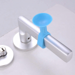 Силиконовая насадка - защита на ручку двери 2 шт. цвет синий
