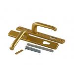 Гарнитур нажимной HOPPE London со сплошной накладкой (30 мм 57-62 мм), Золото матовое
