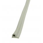 Уплотнитель самоклеющийся P-профиль из EPDM 9х5,5 мм белый