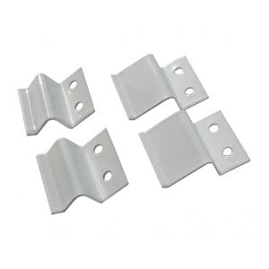 Крепления для москитных сеток z-образные (4 шт) металлические белые