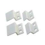 Крепления москитных сеток z-образные (4 шт) пластиковые белые