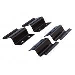 Крепления для москитных сеток z-образные (4 шт) металлические, цвет Коричневый