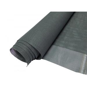 Полотно москитной сетки Антикошка шир. 1,6м, цвет серый