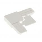 Уголок для москитной сетки пластиковый полый белый
