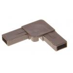 Уголок для рамочной москитной сетки усиленный коричневый