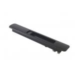 Защелка оконная SWL 17 мм, пластик, цвет черный