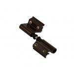 Петля поворотная FLASH BASE V.01, 5 частей, коричневая RAL8019
