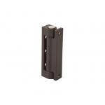 Петля поворотная Internika 75 мм (части: Рамн.+Створ.+Штифт), коричневая
