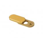 Заглушка - розетка Rotoline, цвет золото матовое