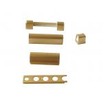Комплект накладок на петли Золото матовое (5 позиций)