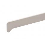 Накладка торцевая BAUSET для подоконника Moeller 625мм, белая