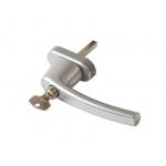Ручка Rotoline с ключом 43 мм, цвет серебристый