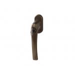 Ручка Rotoline с ключом без логотипа 45мм, темная бронза