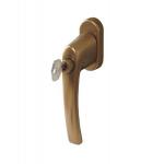 Ручка Rotoline с ключом без логотипа 35мм, цвет бронза