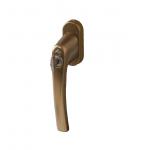 Ручка Rotoline с ключом Tilt First 37мм, цвет бронза