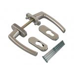 Гарнитур балконный Rotoline серебро/серебро