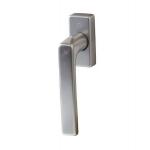 Ручка оконная Hoppe Dallas Secustic алюминиевая, штифт variofit 32-52 мм (F9) титан, 90°