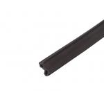 Уплотнитель под стеклопакет для пластиковых окон КБЕ 255 черный