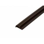 Уплотнитель контурный для межкомнатных дверей DEVENTER, ПВХ (т), темно-коричневый RAL 8014