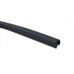 Уплотнитель контурный для межкомнатных дверей 680 черный RAL 9004