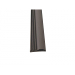 Уплотнитель контурный для межкомнатных дверей DEVENTER, ПВХ, темно-коричневый RAL 8014