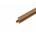 Уплотнитель контурный для межкомнатных дверей, ПВХ, бежевый