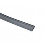 Уплотнитель контурный для межкомнатных дверей DEVENTER, ПВХ, серый RAL 7040