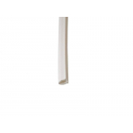 Уплотнитель -заглушка для паза штапика универсальный белый