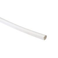 Антипылевая заглушка для паза штапика универсальная белая