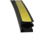 Уплотнитель для дверей магнитный, самоклеящийся 14,5*12,5 мм (длина 2,1 м) черный
